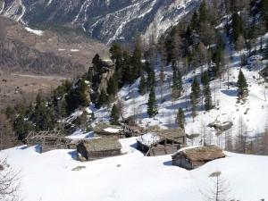 L'alpeggio di Le Pousset, Cogne. Photo Gian Mario Navillod